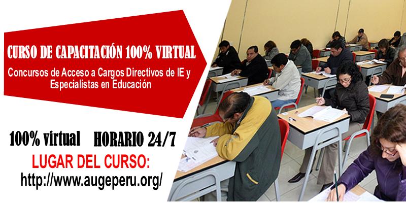 Concurso de Directivos y Especialistas de Educación