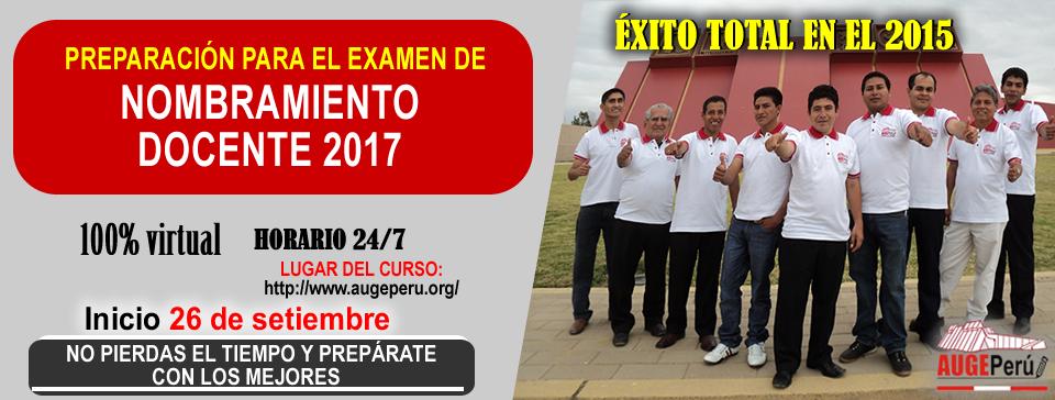 nombramiento docente 2017